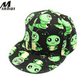 Minhui Cartoon Caterpillars Print Baseball Caps Boys and Girls Sport Cap Snapback Hats for Kids