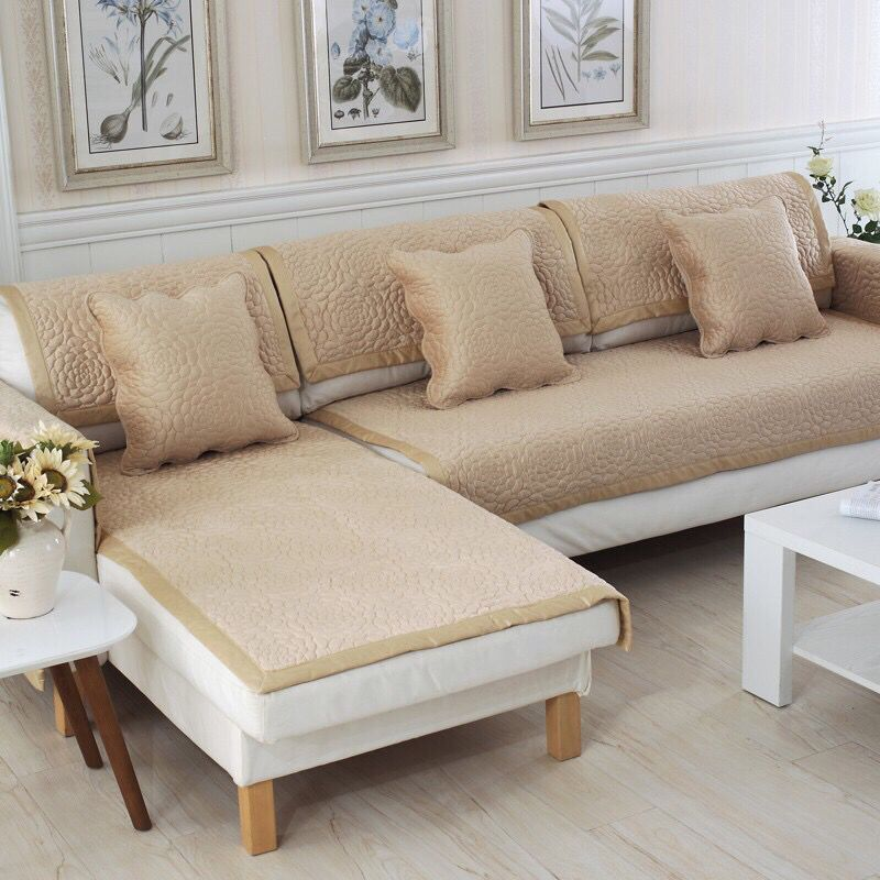 Good Quality Furniture Stores: Aliexpress.com : Buy 1pc Light Tan Color Sofa Cover /Couch