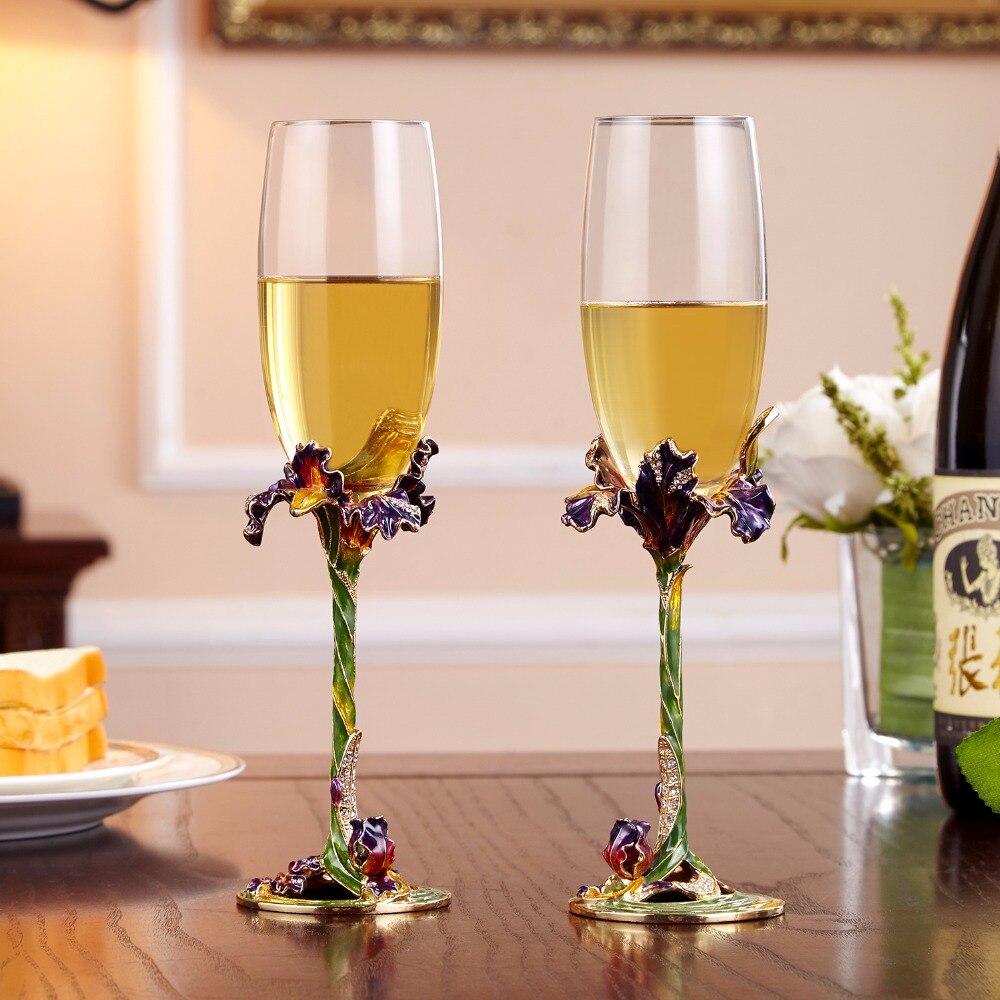 Wedding Gift Champagne Flutes: Wedding Wine Glasses For Love Crystal Champagne Flutes