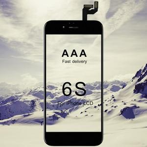 Image 1 - 10 piezas AAA + + para iphone 6S pantalla LCD conjunto de reemplazo completo con pantalla táctil 3D Force para iphone 6S LCD digitalizador