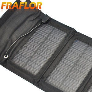Image 3 - 5.5V 5W Portable Folding Solar Panel Charger Battery Charger USB Output With Build in voltage Controller Pack for Phones PSP MP4