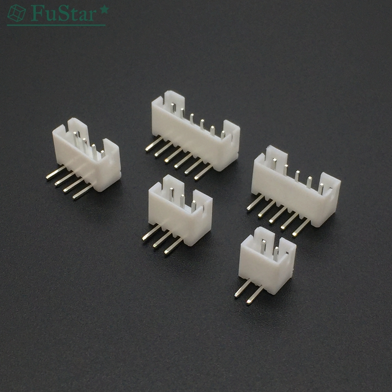 100Pcs <font><b>PH</b></font> 2.0mm 2 <font><b>3</b></font> 4 5 6 7 8 9 10 11 12 <font><b>Pin</b></font> Right-Angle <font><b>JST</b></font> Socket Male Connector White 90 Degree Foot Needle Holder <font><b>PH</b></font> <font><b>2.0</b></font> MM image