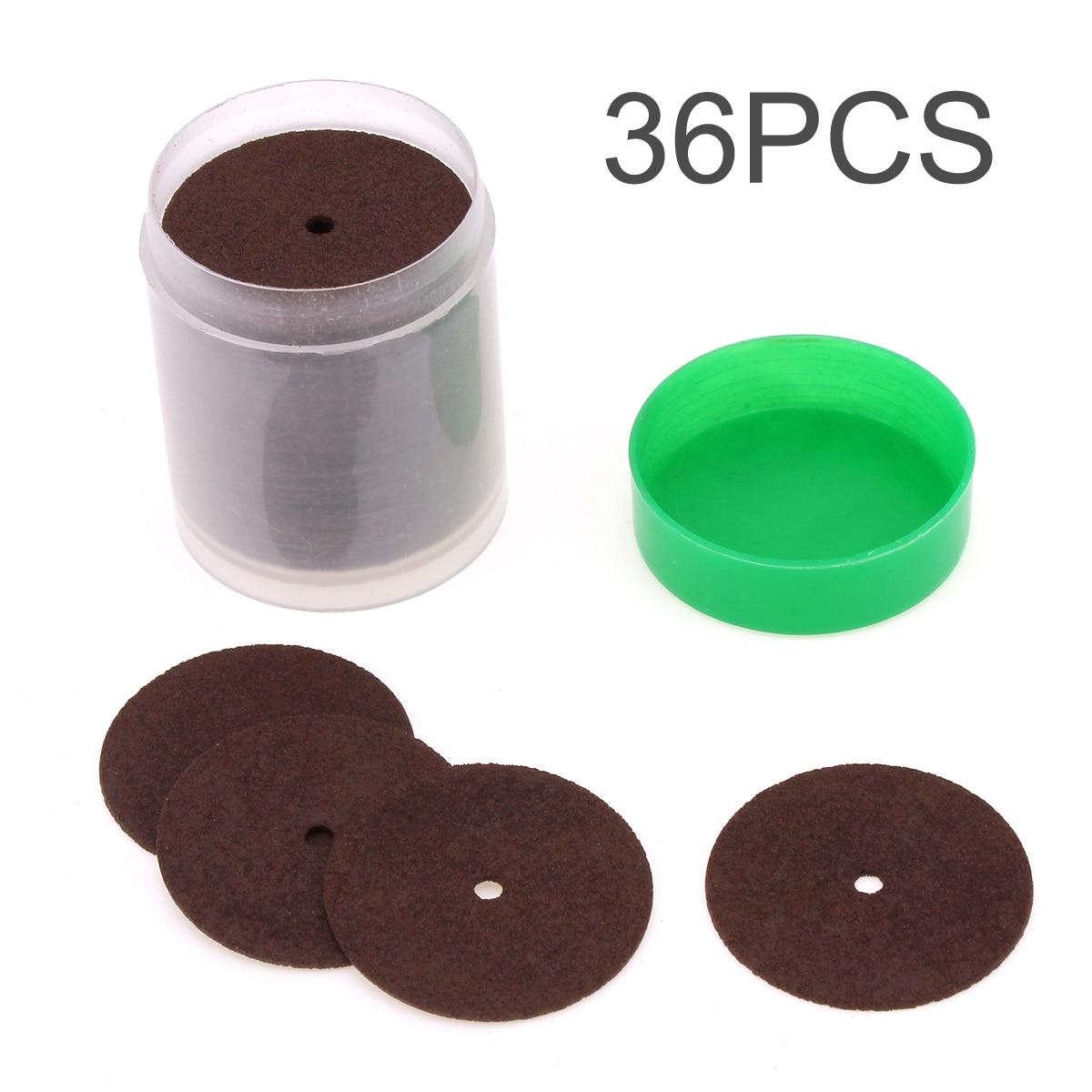 Cutting Disc 36pcs /lot Resin Cutting Wheel Disc Abrasive Sand Cut-off Wheels For  Rotary Tool  Circular Saw Blades