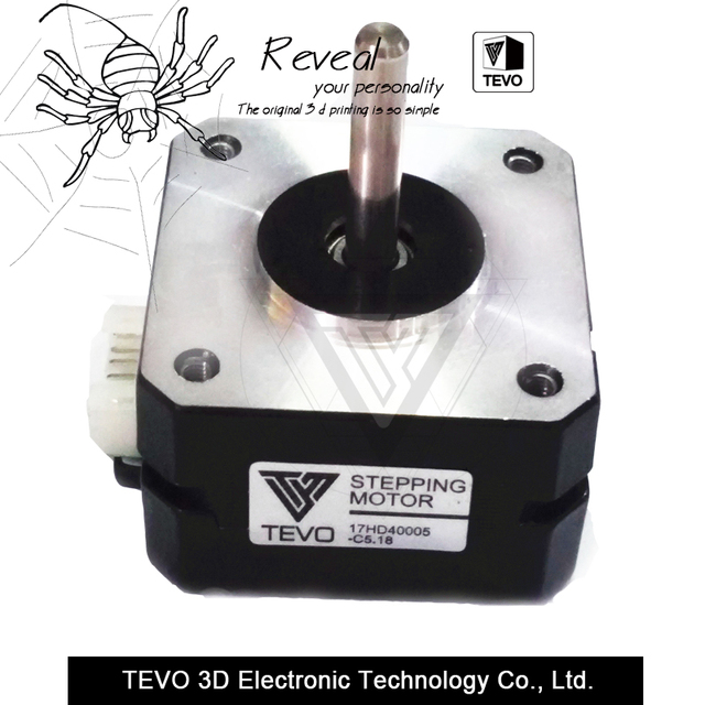 3d printer parts tevo black widow titan step motor for. Black Bedroom Furniture Sets. Home Design Ideas