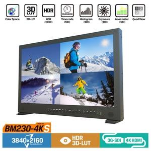 "Image 2 - Lilliput BM230 4KS Monitor de Director 4K de 23,8 "", HDR, 3D LUT, Color, 3840 2160 x, SDI, HDMI, Tally, VGA"