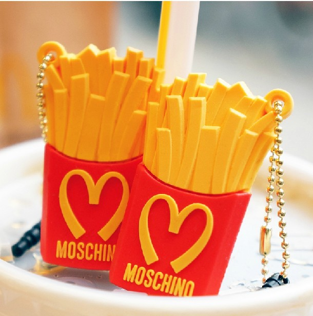 Mcdonald Wholesale Home: Wholesale 50pcs/lot Silicone Mcdonald's Fries Anti Dust