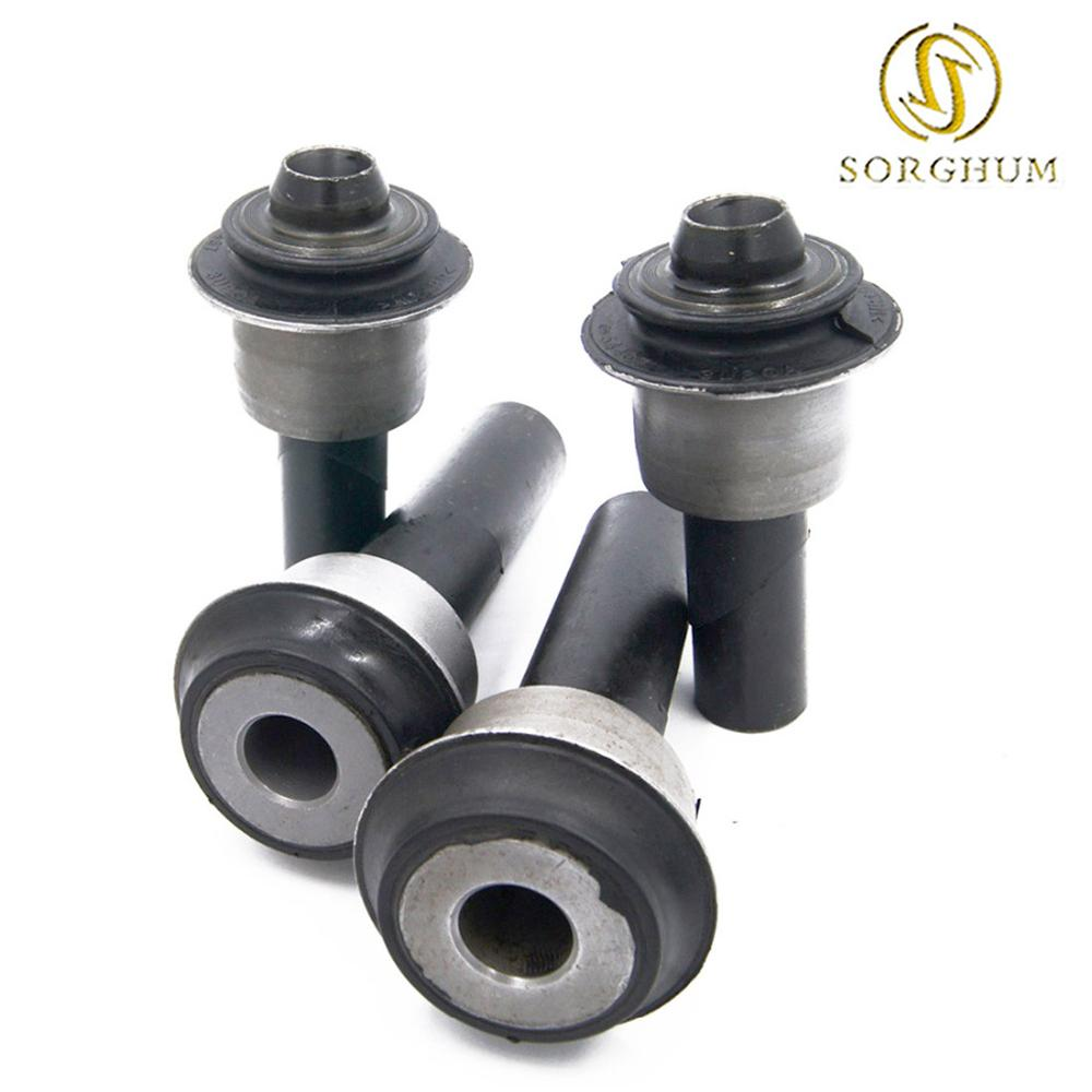 New 4pcs 54466 JD000 54467 BR00A Engine Cradle front Subframe Crossmember Bushing for 08 15 Nissan