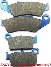 Motorcycle Carbon Brake Pads Set for SUZUKI RM-Z450 RMZ450 RMZ 450 RM-Z 450 Efi 2008 & up