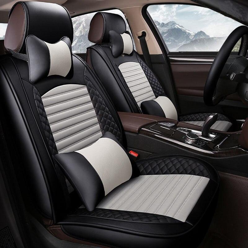 (Спереди и сзади) кожаные чехлы для сидений автомобиля для Suzuki SX 4 универсал Subaru Леоне Outback SVX Vivio trabeca автомобильные аксессуары авто стиль