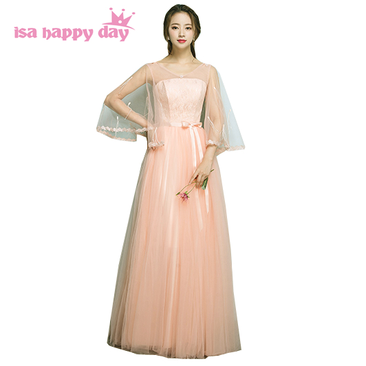 b316914b2c5 women fomal sexy elegant prom dress peach dresses for woman long gown 2018  new arrival under 100 pageant gowns ball gown H4151