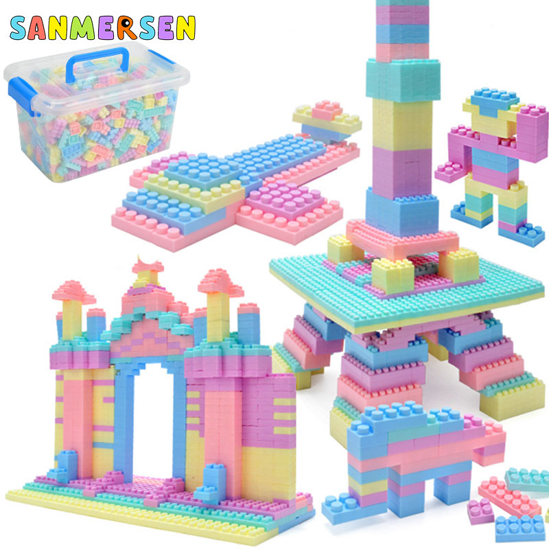 1008PCS Children DIY Building Blocks City Toys Education Bricks Block Assembled Toys Constructor Designer For Children Kid Gifts
