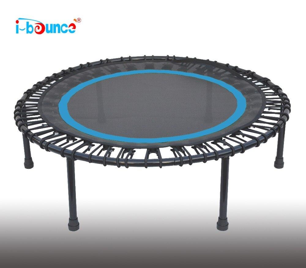 40inch Bungee Trampoline mini rebounder hexagonal fitness bungee trampoline with handrail