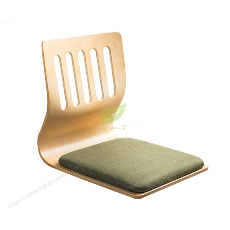 Bamboo Tatami Chair Bed Seat Dormitory Bedroom Lazy Chair  Japan And South Korea Chair Besid Window