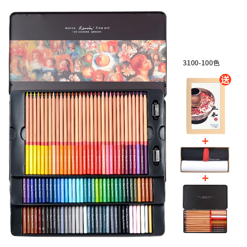 100Colors Non-toxic Classic Oil Colored Pencil Set For Children Special Gifts Sketching Drawing Pencil Art School Supplies 71 120 professional colour drawing pencil set for school kids student sketching pencil soft safe non toxic colored pencils set