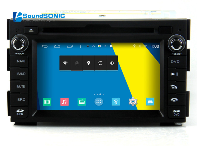 For Kia Ceed 2010 2011 2012 Android 4.4.4 2 Din Car Stereo DVD GPS Audio Video Player Android OS For Kia Ceed + Free HD Camera
