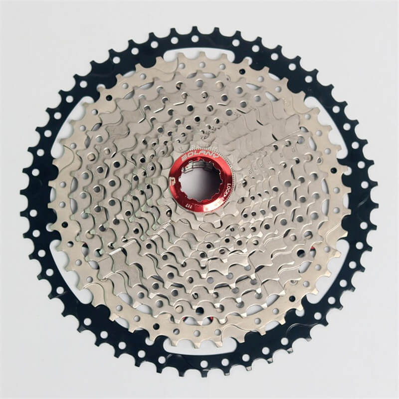 BOLANY Bike Bicycle Freewheel 12 Speed 11-50T MTB Mountain Road Bike Steel Casette Flywheel Freewheel Wide Ratio Gray sunshine 11 speed 11 42t cassette bicycle freewheel mtb mountain road bike bicycle wide ratio freewheel steel climbing flywheel