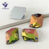 YANRUO 3265 toutes les tailles VM cosmique Flatback Strass couture Strass coudre sur des pierres et des cristaux pour l'artisanat