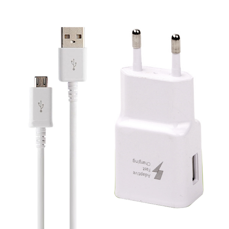 GEUMXL 5V-2.1A Adaptative Charge Rapide Chargeur USB UE Téléphone Rapide Adaptateur Pour Samsung Galaxy S7/S6/Bord Note 4/5 J5 2016 A3/A5