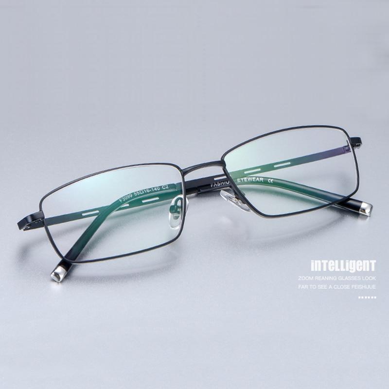 Handoer Alloy Optical Glasses Frame for Men Eyewear Spectacles Prescription Business F3099