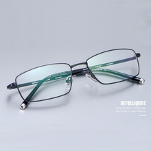 Handoer Alloy Optical Glasses Frame for Men Eyewear Spectacles Prescription Business F3099