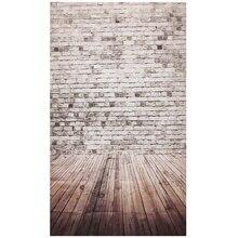 Фотографии фоном студии реквизит для фотосессии тонком фоне 3X5FT древесины кирпич стиль 1