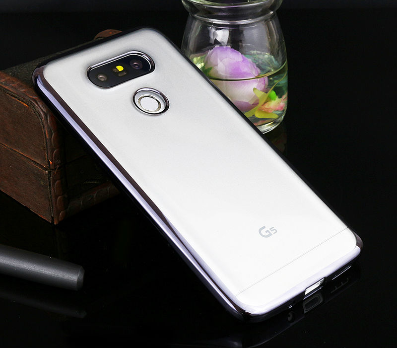 Sprawa silikonowy Do LG G4 G5 K5 K10 Pokrywa Przezroczysty Poszycia Złota Ultra Thin Miękkie Wyczyść Back Cover Dla LG G4 G5 K5 K10 Coque 9