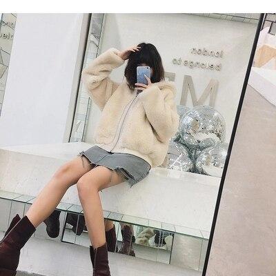 Fourrure kaki Gamme 2018 C5 Haut En Manteau Nouveau Style Mode De Femmes Fausse Beige wzOqzUIn