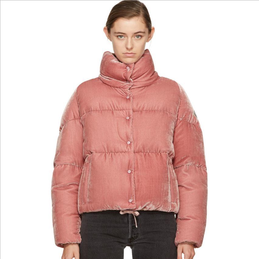 2017 winter women 's new Korean version velvet cotton coat  long sleeved single breasted bow cotton padded jacket coat wj1488 ws 2471 women s stylish cotton long sleeved long blouse grey