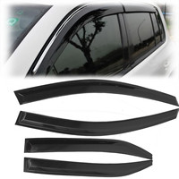 4Pcs Window Visor Shade Vent Rain Deflector Cover For Toyota Camry 2007 2011