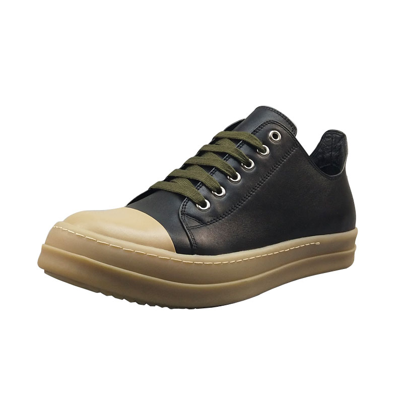 Men Casual Basic Shoes Luxury Trainers Cow Genuine Leather Lace-Up Spring Male Black Adult Sneakers Boots Brand Flats ShoesMen Casual Basic Shoes Luxury Trainers Cow Genuine Leather Lace-Up Spring Male Black Adult Sneakers Boots Brand Flats Shoes