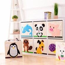 Caja de Animales para Ropa | Organizador infantil de tela para Juguetes