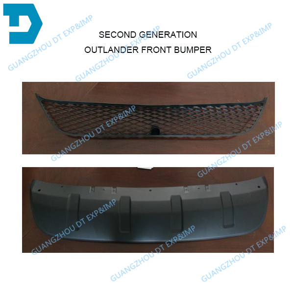 2007-2012 airtrek front bumper net outlander chrome grille bumper lip all other parts available abs chrome front grille around trim for ford s max smax 2007 2010 2011 2012
