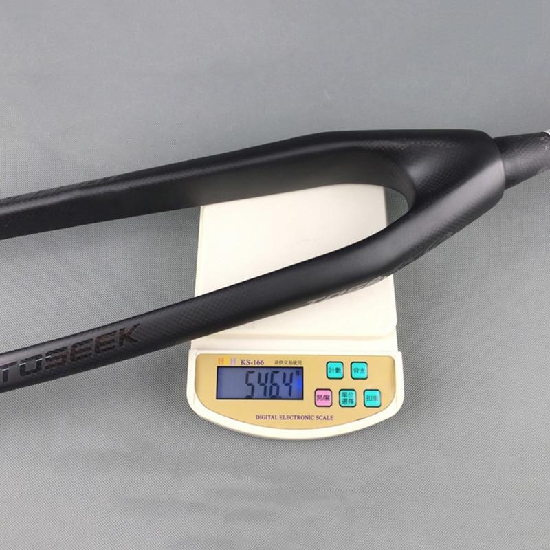 Biçikleta malore e ngurtë pirun e ngurtë 3K Fibër karboni të - Çiklizmit - Foto 6