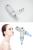 Ultrasónico Galvánico Ion Spa Terapia De Ultrasonido Depurador de La Piel Facial Limpiador de Poros Dispositivo de Belleza Facial Masajeador Máquina de Estiramiento Facial