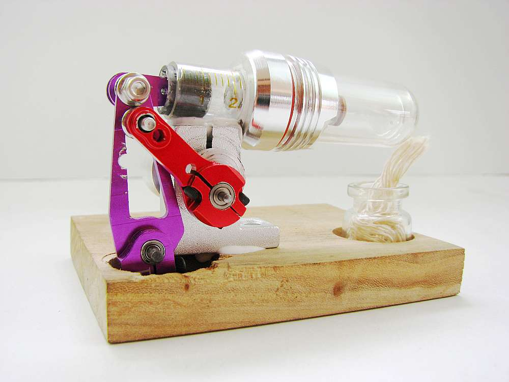 Stirling engine Free piston External combustion engine micro Engine model Mechanical toy