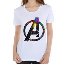 Comics Cast 3D Anime Tee Avengers movies print t shirt women Superhero Top 2018 funny t shirts camisetas mujer iron Man L19-49
