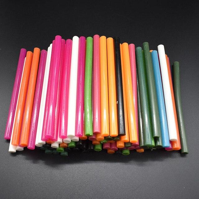Mix Colorful 7x100MM Hot Melt Glue Sticks 7MM For Electric Glue Gun...