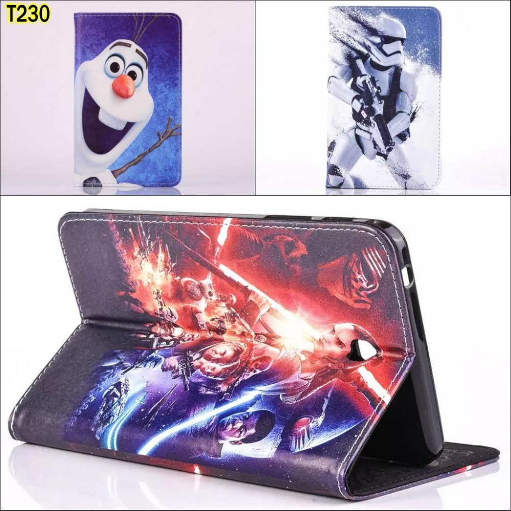 Fashion Movie Cartoon pu leather Stand holder case cover for Samsung Galaxy Tab 4 tab4 7.0 T230 T231 t235 7.0 with pen 2017 hot smart flip tab4 t230 case pu leather stand flip case cover for samsung galaxy tab 4 7 0 t231 t230nu t235 stylus free