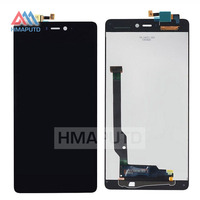 Tested Black Best Working LCD Touch Screen Digitizer Assembly For Xiaomi Mi4c Mi 4c M4c Mobile