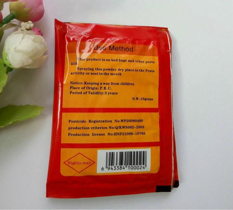 Powder To Kill Bed Bugs 25 Bagslot High Effective Bug