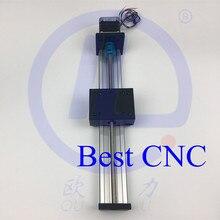 Высокой Точности С ЧПУ STK T8 * 8 Ballscrew Подвижный Стол полезный ход 300 мм + 1 шт. nema 23 шагового двигателя XYZ axis Linear motion