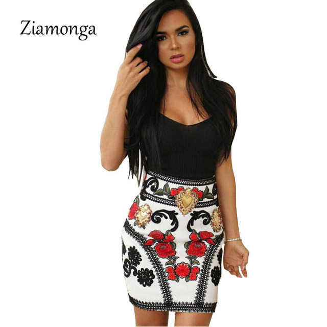 4262cc238668 Ziamonga Sexy Women Summer Dress Business Appropriateness Wear to Work Office  Dress Floral Printed Mini Bandage Dress To Party