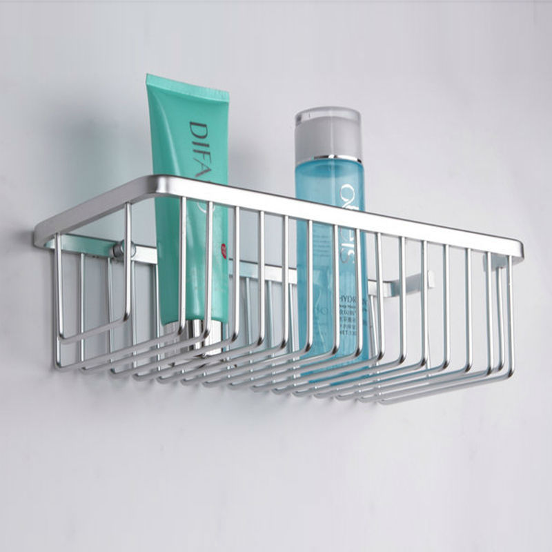 KES A4023 Rectangular Tub and Shower Basket Wall Mount, Aluminum-in ...