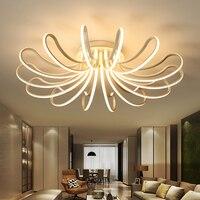 New Designer Modern Led Ceiling Lights For Living Study Room Bedroom Lampe Plafond Avize AC85 265V