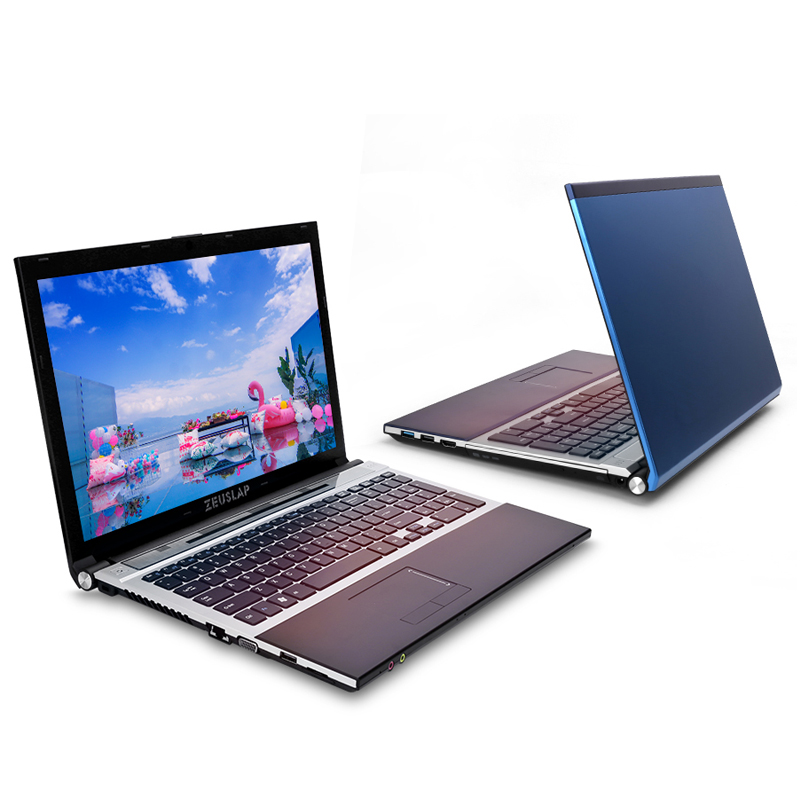 15.6inch Intel Dual Core I7 4GB RAM 128GB SSD 1TB HDD 1920x1080P WIFI Bluetooth DVD Rom Windows 10 Notebook PC Computer Laptop