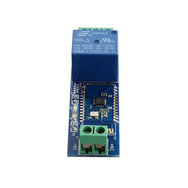 2019 nuevo relé de Internet módulo Bluetooth inteligente de Control remoto del teléfono móvil interruptor DC12V inalámbrico módulo de relé componente