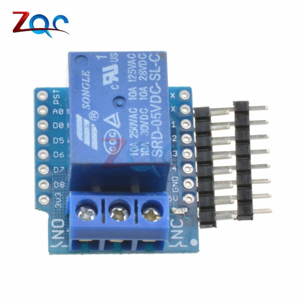 ESP8266 Relay Shield V2 WeMos D1 Mini ESP8266 Development Board For WeMos D1 Mini Relay Module For Arduino ESP8266 wemos d1 r2 v2 1 0 wifi uno based esp8266 for arduino nodemcu compatible au new