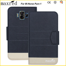 Maxred Original! M-Horse Pure 1 Case 5 Colors High Quality Flip Ultra-thin Luxury Leather Protective For