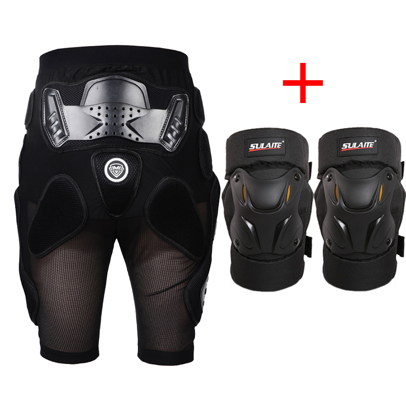 цена на Motorcycle Protection Racing Riding bicycle Armor Shorts Sport Knee pads Moto Motocross Kneepads Motorcycle Turtle Knee pads