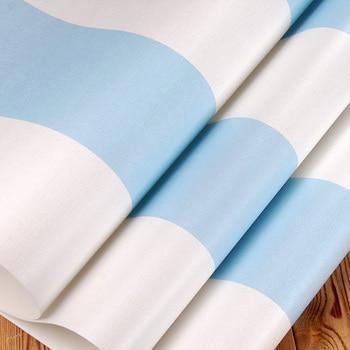 Literie à Rayures Bleues Et Blanches   Papier Peint Vertical Bleu Et Blanc De Chambre à Coucher Moderne Papier Peint Non Tissé De Chambre D'enfants Pour Des Murs Papier Peint De Salon De Chambre De Garçon